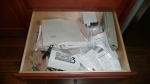 Bottom Drawer Before