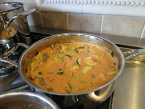 Thai Coconut & Peanut Butter Curry